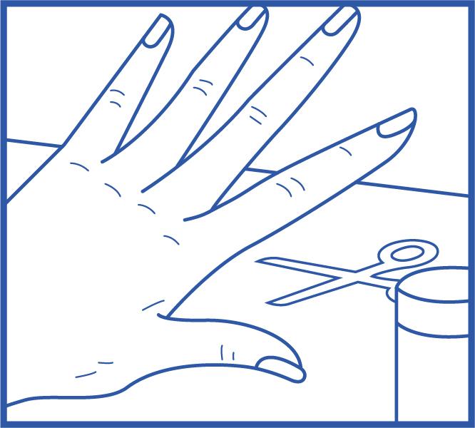 Étape 1 Enlevez votre vernis, coupez vos ongles, brossez-vous les dents ou faites un bain de bouche.